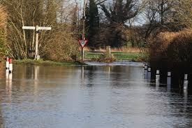 Flooded give way